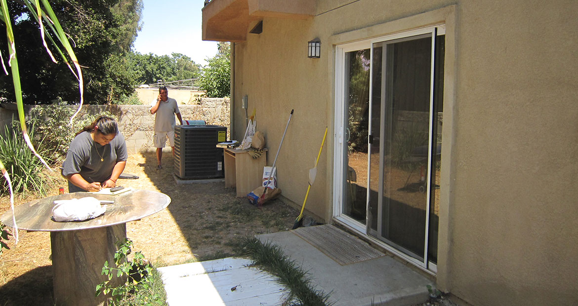 Remodel Me - Patio Cover Remodeling Los Angeles Before 1